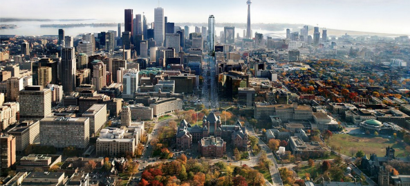 Autumn Toronto Skyline